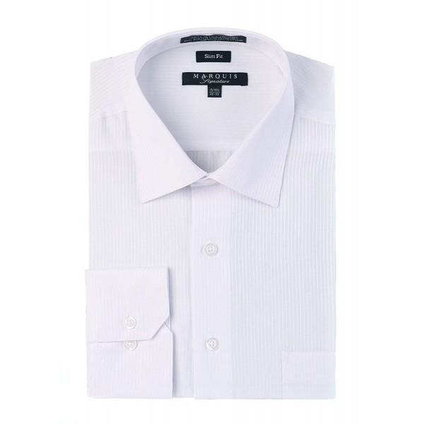 MARQUIS Dobby Striped Dress Shirt