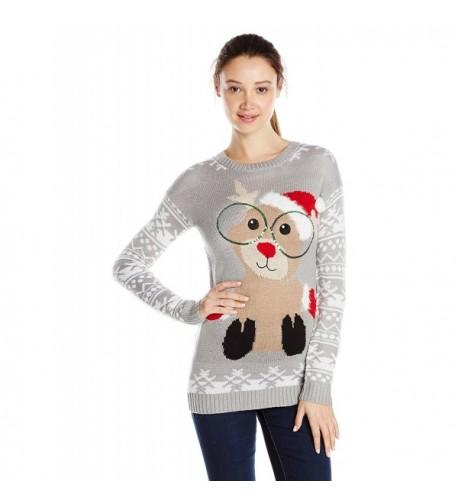 Derek Heart Reindeer Jacquard Christmas