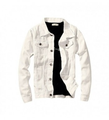 LifeHe Denim Jacket Fashion Jeans
