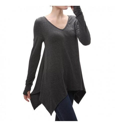 Cotton Sleeve Lightweight Irregular T Shirt