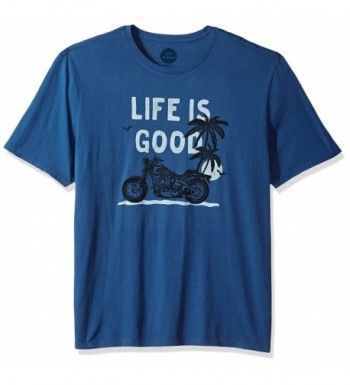 Life Smooth Motorcycle Vintage XX Large