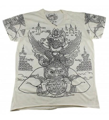 Tattoo Vishnu Garuda T Shirt WK04