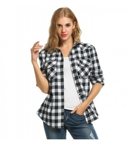 Hufcor Womens Workwear Boyfriend Shirt