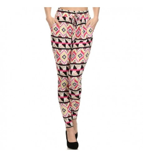 Shosho Womens Harem Geometric Medium
