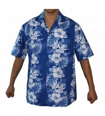 PANEL FLOWERS HAWAIIAN ALOHA SHIRT