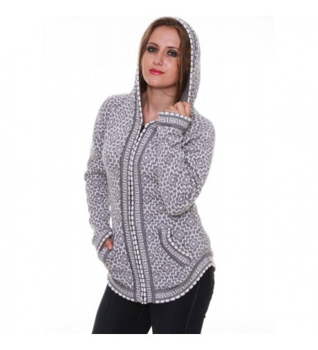 Gamboa Gray Alpaca Sweater Andean