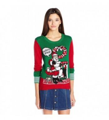 Ugly Christmas Sweater Juniors Pullover