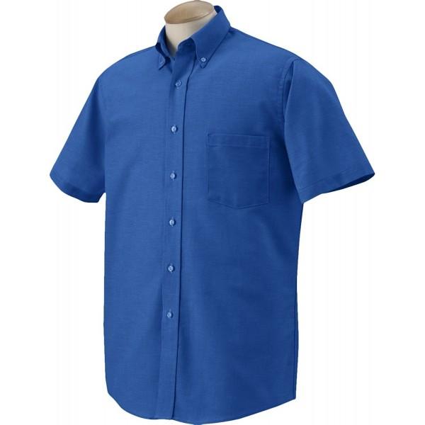 Heusen Short Sleeve Oxford Dress