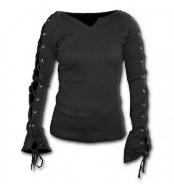 Spiral Womens Gothic Elegance Laceup