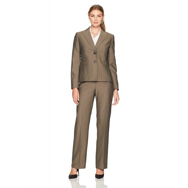 Suit Womens Herringbone Button Notch