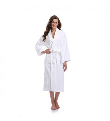Sunnyhu Womens Terry Cloth Bathrobe