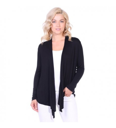 Popana Womens Long Sleeve Cardigan
