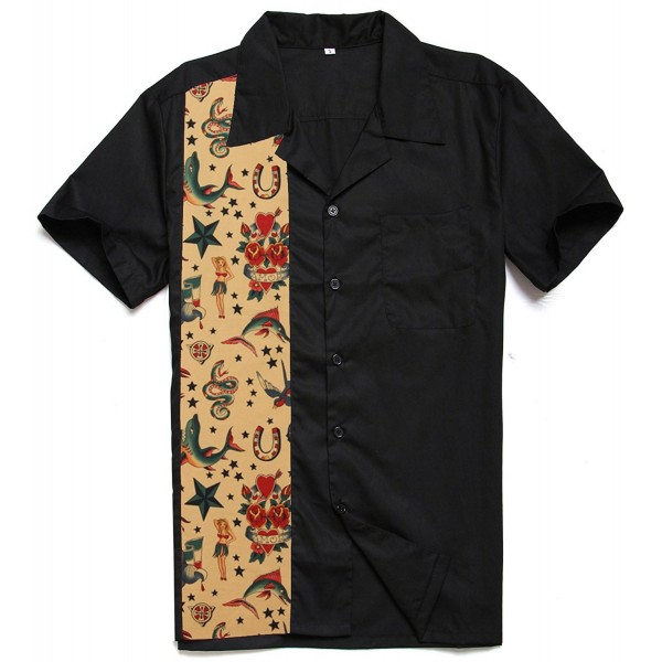 Candow Look shirts cotton tattoo