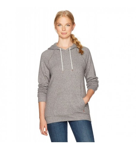 Volcom Womens Pullover Hooded Charcoal