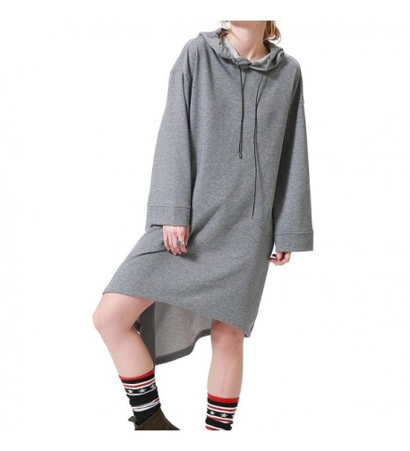 Sviuse Womens Sweatshirt Irregular Outerwear