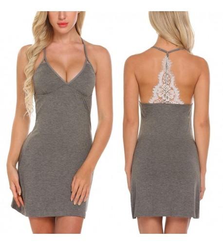 Skylin Lingerie Womens Babydoll Sleepwear