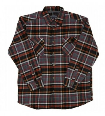 Northern Expedition Ponderosa Flannel Button