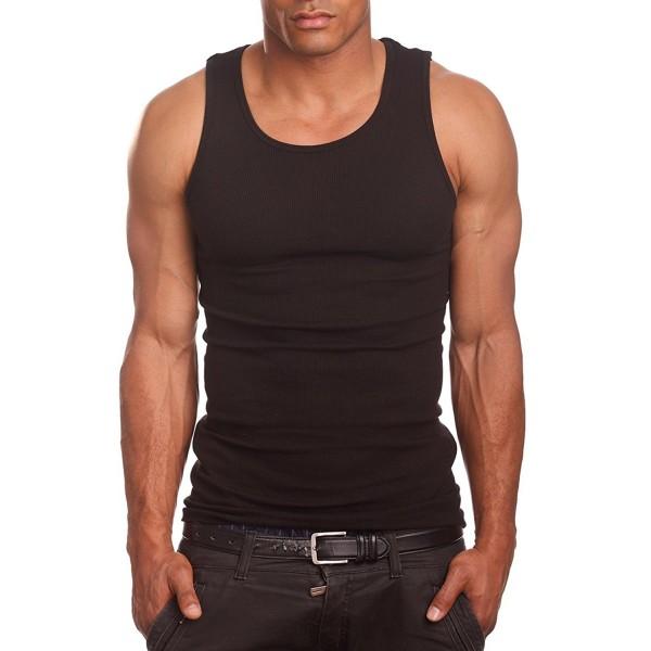 PRO Mens Shirts Undershirt Black