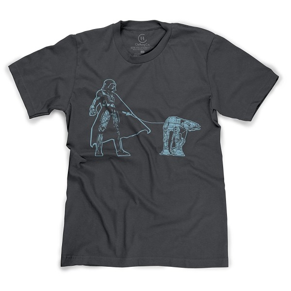 Darth Vader Walking Sci Fi T Shirt