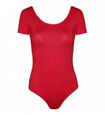Commencer Womens Sleeve Leotard Bodysuit