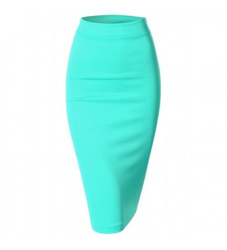 Doublju Elastic Stretchy Skirt available