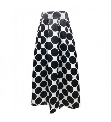 Women Pleated Vintage Skirts Floral
