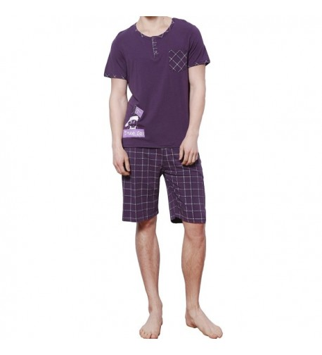 HACAI Pajama Cotton Sleeve Sleepwear