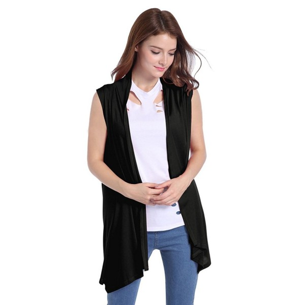 Women S Slim Fit Sleeveless Open Front Cardigan Vest Asymmetric Hem Black C7128fklirh Shop the latest chic styles of 2020 sweater vest of tank tops from women collections at zaful with prices down to $5.99, including sleeveless sweater vest,neck sweater vest,vest top and more. front cardigan vest asymmetric hem