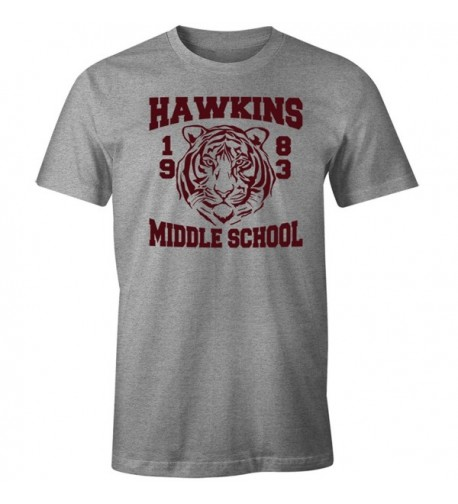 Fantastic Tees Hawkins Middle Heather