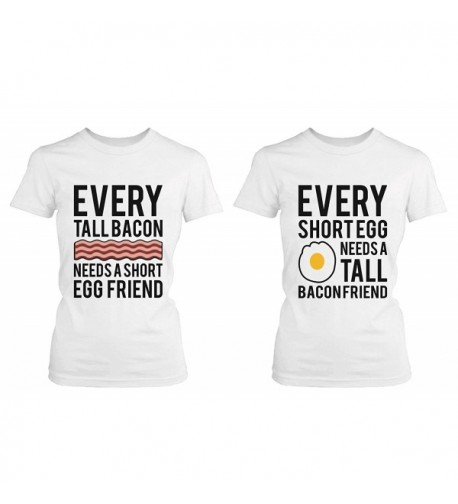 Every Bacon Matching Friends T shirts
