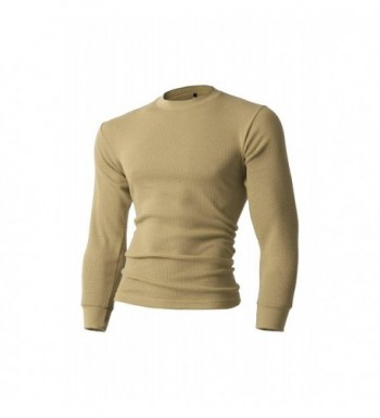 Mens Thermal Shirts Large ks23_khaki