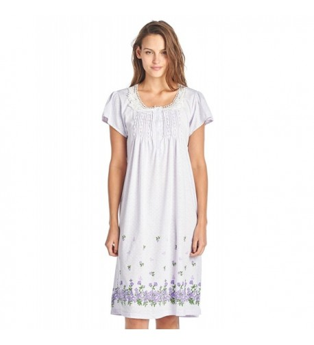 Casual Nights Womens Flower Nightgown