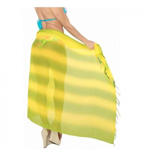 Leela Sarong Hawaiian Swimwear Chiffon