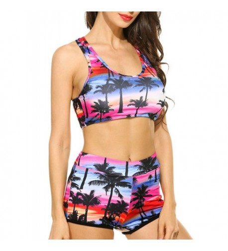 Sweetnight Swimsuits Tropical Beachwear Juniors