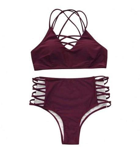 Cupshe Fashion texture Swimwear Bathing