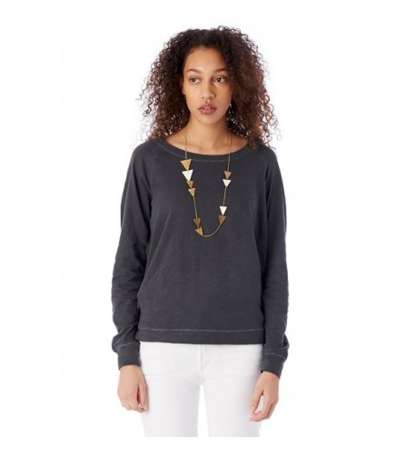 Alternative Womens Slouchy Garment Pullover