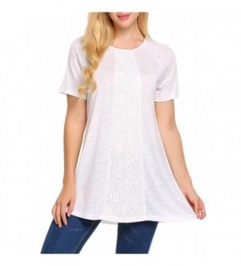 Soteer Womens Casual Chiffon T shirt