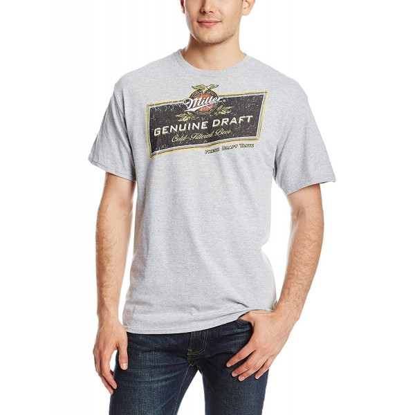 Miller Brewing T Shirt Athletic Heather