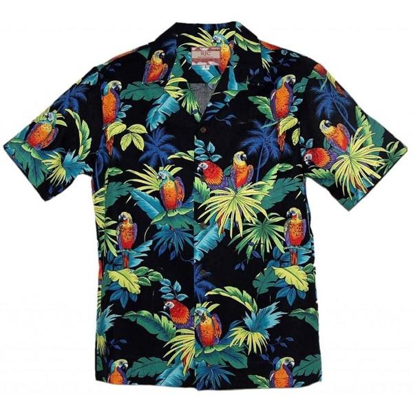 RJC Brand Tropical Parrots Hawaiian