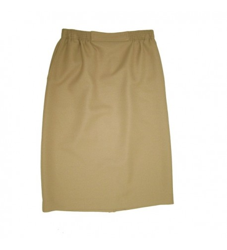 Alfred Dunner Womens Poly Skirt