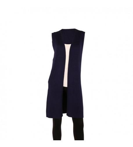 SIONI Womens Sweater Trendy Sleeveless