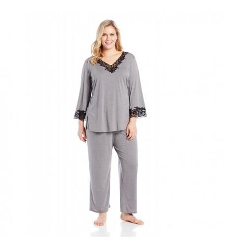 Natori Womens Plus Size Heather X Large