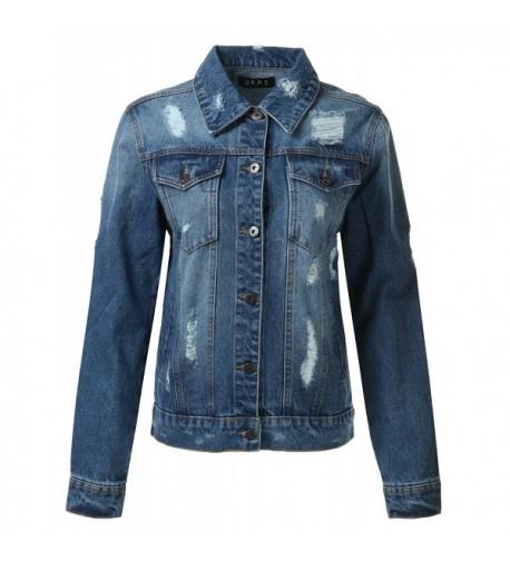 Basic Denim Jacket Dark M