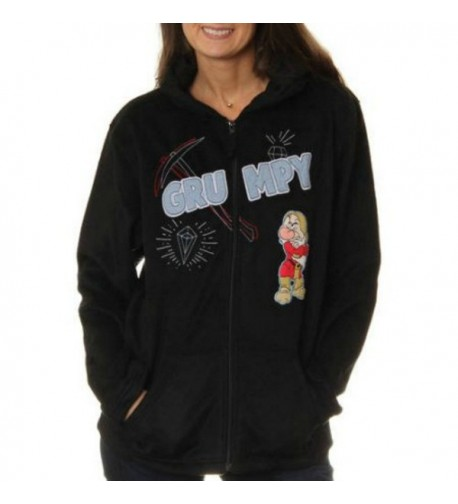 Disney Grumpy Womens Fleece Sweatshirt