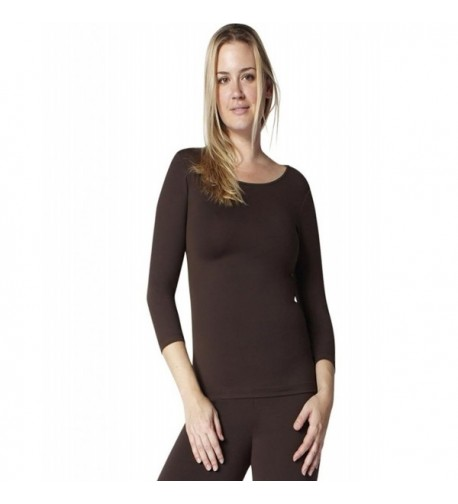 Perfect Slimming Sleeve Crewneck Luxxe###Cheap Real Women's Tees Outlet Online