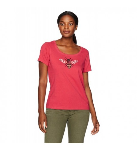 Life Womens Crusher Scoop T Shirt