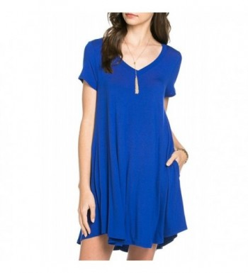 Bamboo Sleeve V Neck T shirt Medium