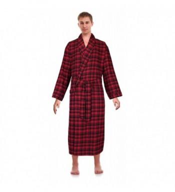Robes King Classical Sleepwear Flannel