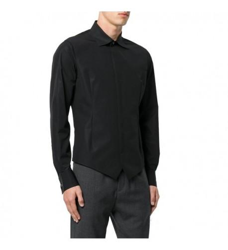 Coofandy Sleeve Shirts Poplin Adjustable