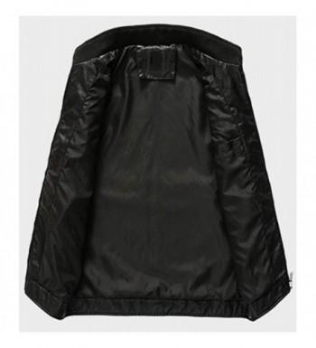 Popular Men's Faux Leather Jackets